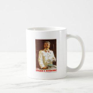 Mug art d'affiche de stalin