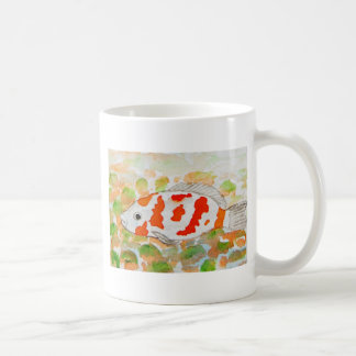 Mug Art d'aquarelle de poissons de Koi