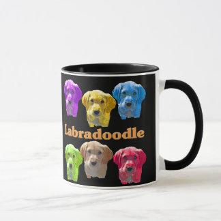 Mug Art de bruit de Labradoodles
