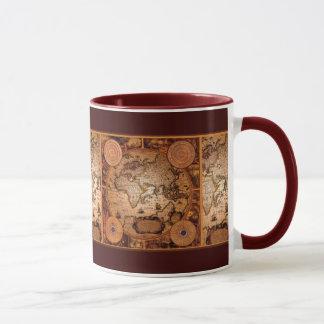 Mug Art de carte de Vieux Monde - 1481