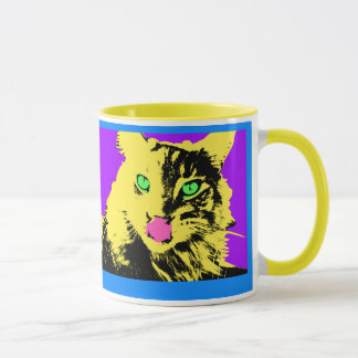 Mug art de chat de bruit
