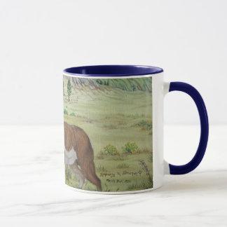 Mug Art de faune d'antilope de Sandhills Pronghorn