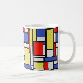Mug Art de Mondrian