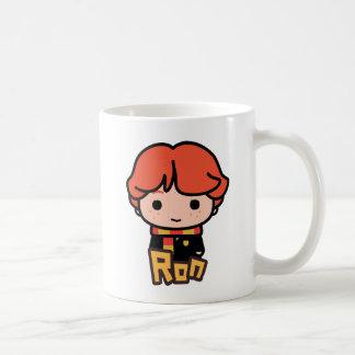 Mug Art de personnage de dessin animé de Ron Weasley