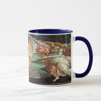 Mug Art de Renaissance, la naissance de Vénus par