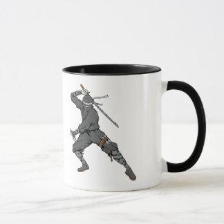 Mug Art d'imaginaire de guerrier d'arts martiaux de
