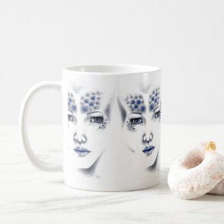 Mug Art d'original de Mlle Universe Beautiful Alien