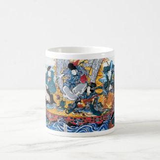 Mug Art d'Ukiyoe de Japonais (utagawa de kunisada)