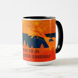 Mug Art FONCTIONNANT d'INGÉNIEUR du nord-ouest de grue