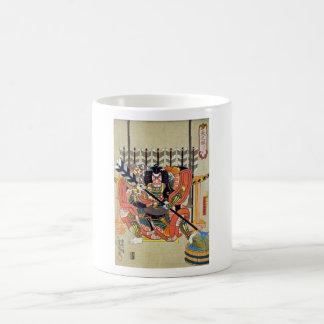 Mug Art japonais d'ukiyoe (utagawa de kunisada)