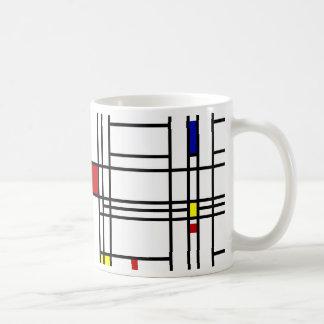 Mug Art moderne de Mondrian