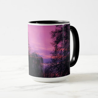 Mug Art par Dieu un lever de soleil magnifique par les