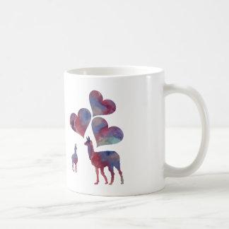 Mug Art romantique de lama