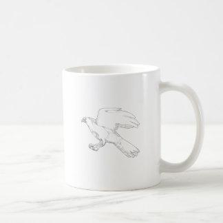 Mug Art Swooping de griffonnage d'autour du nord