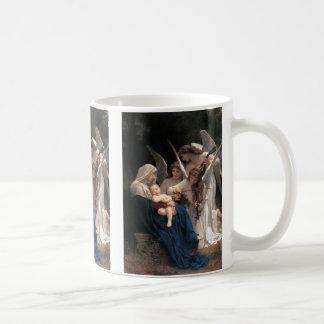 Mug Art victorien vintage, chanson des anges,