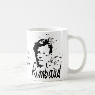 Mug Arthur Rimbaud Bonne Pensée du Matin Poem