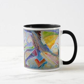 Mug Ascension acrylique abstraite de peinture