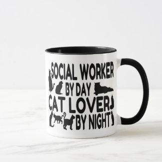 Mug Assistant social d'amoureux des chats