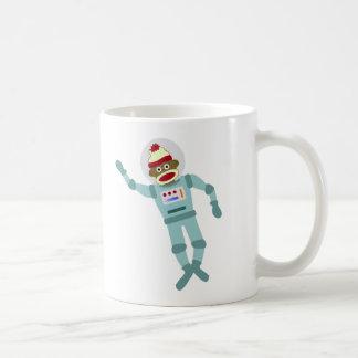 Mug Astronaute de singe de chaussette