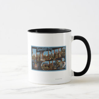 Mug Atlantic City, New Jersey - grandes scènes 2 de