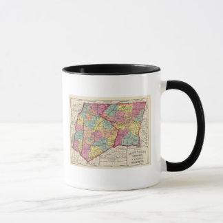 Mug Atlas topographique des comtés 5 du Maryland