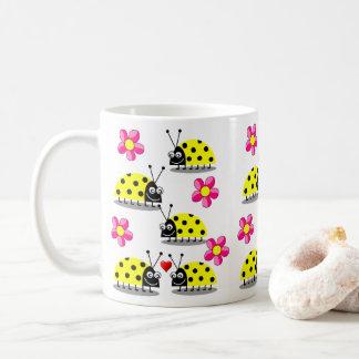 Mug attaque des coccinelles