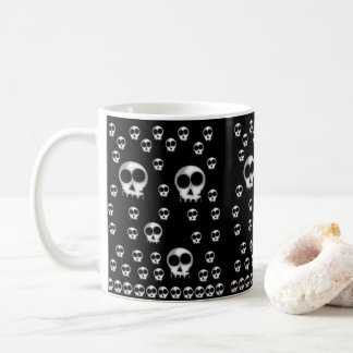 Mug attaque des squelettes de Halloween