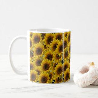 Mug attaque des tournesols