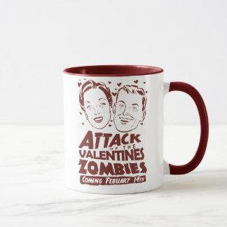 Mug Attaque des zombis de Valentines