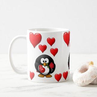 Mug attaque l'amour de jour de valentines