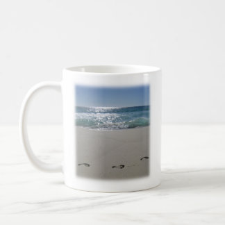 Mug Attaquez avec une plage et un vers de bible (le