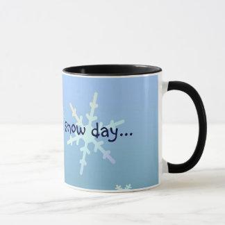 Mug Attendant un jour de neige…