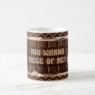 Mug Attitude de chocolat, vous voulez rapiécer de moi