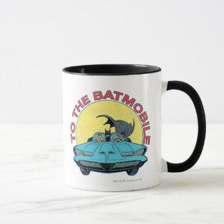 Mug Au Batmobile - icône affligée
