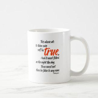 Mug Au thine possédez l'individu soit vrai