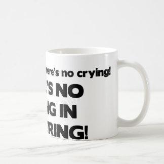 Mug Aucun pleurer dans le courtage