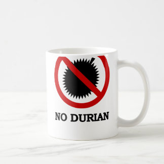 Mug AUCUN signe de fruit tropical de durian
