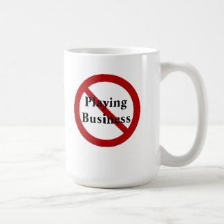 Mug Aucune affaire de jeu (grande)