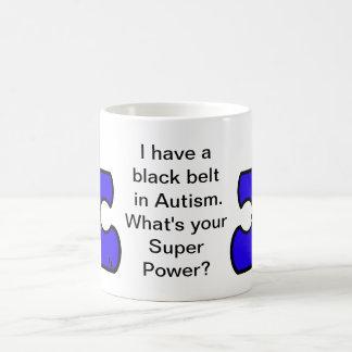 Mug Autisme de ceinture noire ce qui est votre T-shirt