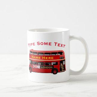Mug Autobus rouge de Londres orienté