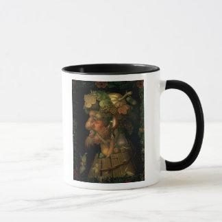 Mug Automne, d'une série dépeignant les quatre