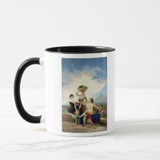 Mug Automne, ou la récolte de raisin, 1786-87