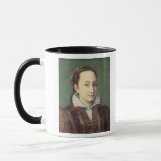 Mug Autoportrait, attired comme domestique-de-honneur
