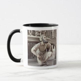 Mug Autoportrait d'Adam Krafft, sculpture en pierre