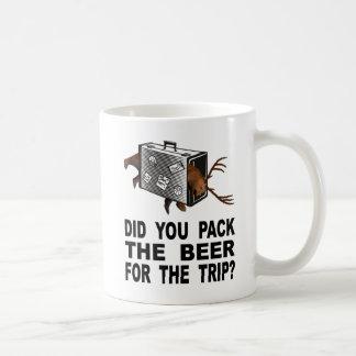 Mug Avez-vous emballé la bière pour le voyage ?