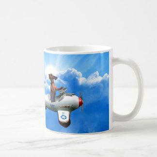 "Mug ""Aviateur de teckel"" conçu par Zermeno"