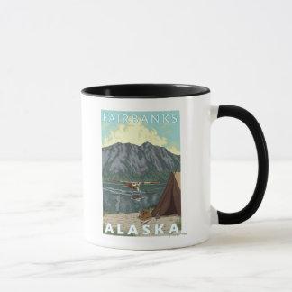 Mug Avion de Bush et pêche - Fairbanks, Alaska