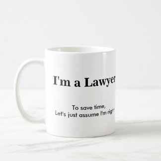 Mug Avocat - supposez que j'ai raison