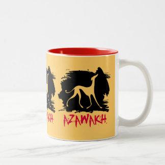 Mug Azawakhs stylisés