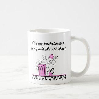Mug Bachelorette tout au sujet de moi